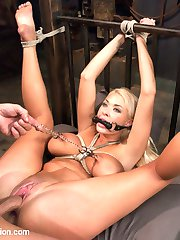 Summer Brielle returns for a very intimate BDSM scene with Mr. Pete.