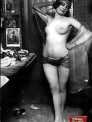 Vintage hotties backstage