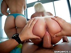 Where there\'s nothing but big asses on display. This update is a perfect example of what we here at BangBros have to offer. Champ brings his huge fat cock to fuck a big booty.