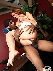 Interracial Cock Lover, Veronica Avluv GangFucked By Black Cocks at Blacks On Blondes!