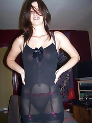 Wild skanky bitch enjoying black boner
