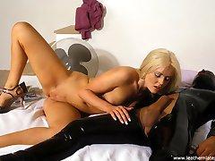 Hot sex in rubber