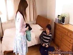 Japanese mature woman has cute part1