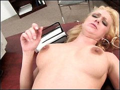 Milf deepthroats and fucks a dick