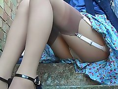 Knickers On The Steps