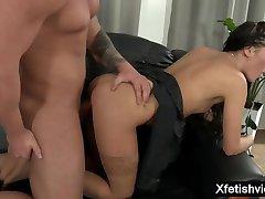 Hot pornstar piss with cumshot