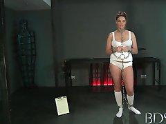 BDSM XXX Slave girls with massive tits get hardcore treatment