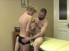 Young Twink Gives A Sensual Massage