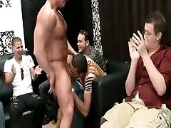 Muscled stripper gets whipcream licked part4