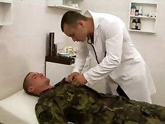 Soldier's bareback physical