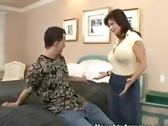 mil mature brunette deauxma with big tits straight sex with anal ending in cumshot tits and mouth