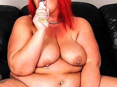 big mature redhead
