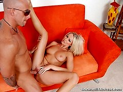 MILF has natural tits that got this stud039s cock hard as rock