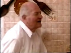 Old Man Fuck Big Tit Wife then Younger Girl