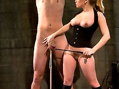 Who wouldnt bark for this gorgeous dominatrix? If Derrick knows what is good for him and his...