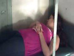 my girlfriend in train-2