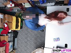 Shoplifter Krystal Orchid Gets Rammed By Officer