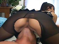 Shy Love pantyhose sex