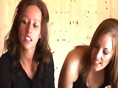 Hot steamy action in sauna with handsy babes