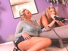 Sarah Jay and friend - Fucking Machine