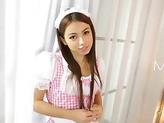AzHotPorn.com - Cute Maid Who Gives Special Service