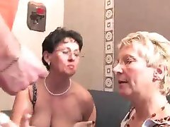 Group sex with grannies - 3