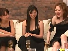 Asian Group Sex Orgy