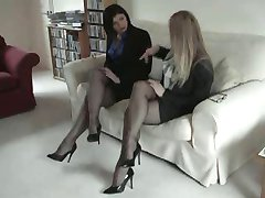 Black Fully Fashioned Nylon Stockings Leg and Foot Fetish