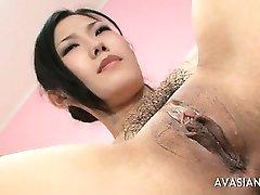 Hairy Japanese Extreme Fisting