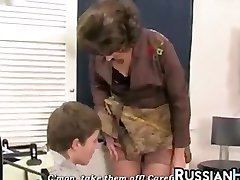 Mature Woman Riding Her Step Son