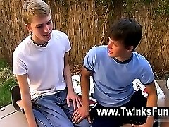 Gay XXX After embarking the party in the garden the guys head for