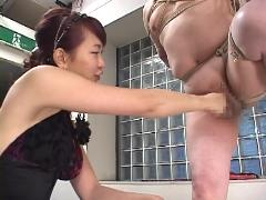 big tits asian femdom
