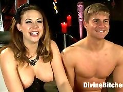 Logan Vaughn attempts to impress Chanel Preston on his second day of training with the Divine...
