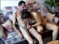 Happy married couple homemade sex video with oral, classic and even try of anal