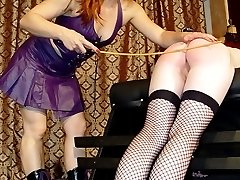 OTK spanking pure humiliation with an enema for a young cutie