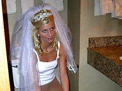 Gall of Sluts Share Bride In Motel