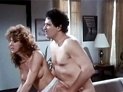 Hairy retro chick gets cock