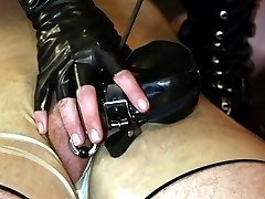 Rubber fetish couple