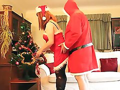 Santa only cums once a year but when he does, he fills my stockings! I had a lot of fun with...