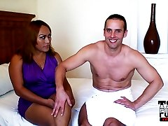 Big Tits Latina Shemale has her Ass Abused