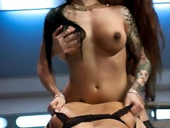 TsPussyHunters.com feature presentation starring Ts Foxxy, Francesca Le and Bella Rossi in an...