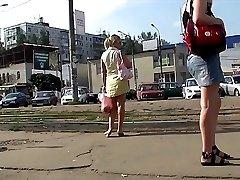 Nice acquaintance with amateur up skirts