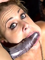 A sadistic lesbian couple, Mona Wales and Lea Lexis, keep beautiful kitten, Cherie Deville, as a sexual pet to punish and use as they see fit. This all star cast have great chemistry and Cherie has intense orgasms from the combination of objectification and the most power vibrator in the world, The Sybian!