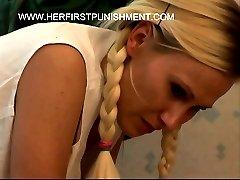 Russian Schoolgirl in tears - brutal spanking punishments