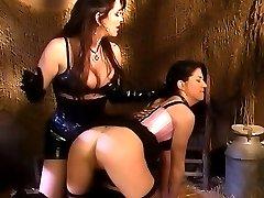 Big busted ladies enjoy erotic spanking