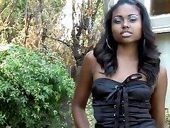 Beautifull Ebony Pussy Fucked BBC