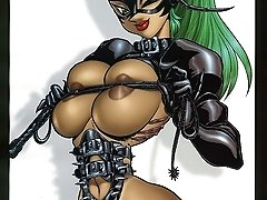 hentai femdom bondage