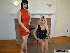 Wife Gets Instruction From Dominatrix