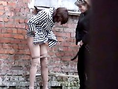 Two babes have a pee unsuspecting of voyeur camera