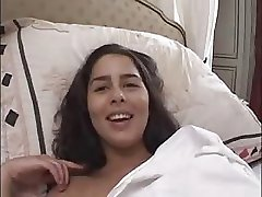 French Amateur Brunette gets her first anal...F70